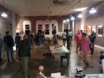 Lots of Art lovers in the Loft