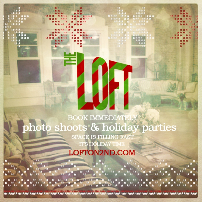 HOLIDAYS IN THE LOFT