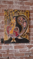 Peacock by Shamala Bennu Auset