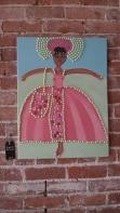 Dancing Ballerina by Shamala Bennu Auset