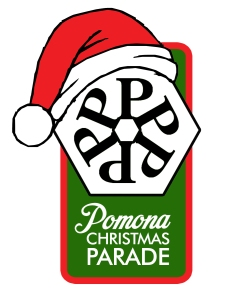 Pomona Christmas Parade Patch